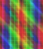Neonmosaiken belägger med tegel bakgrund royaltyfria bilder