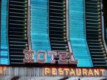 Neonowa kasynowa markiza Obrazy Stock