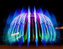 Neonowa ostrości noc zdjęcie stock