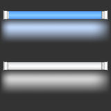 Neonowe lampy Obraz Stock