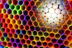 Neonowe słoma (1) Zdjęcia Royalty Free