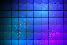 Neonowego światła sześcianu tło Obraz Royalty Free