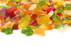 Neonowi gumowaci cukierki Obrazy Stock