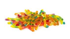 Neonowi gumowaci cukierki Zdjęcie Stock