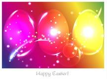 Neonowi jajka Ilustracji