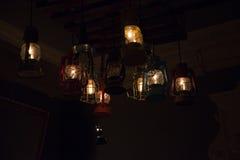 Neonowy światło Zdjęcia Stock