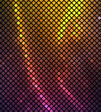Neonowy abstrakcjonistyczny tło Fotografia Stock