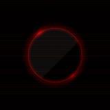 Neonowy czerwony tło Obrazy Stock