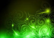 Neonowy Deseniowy tło Obrazy Stock