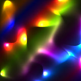 Neonowy multicolor plamy tło, olśniewający tereny Obrazy Stock