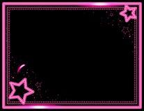 Neonowy Starburst tło Fotografia Royalty Free