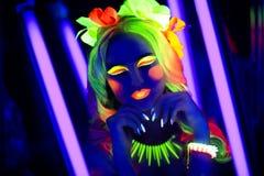 Neonowy Uzupełniał Fotografia Royalty Free