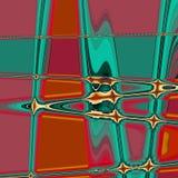 Neonowy zygzakowaty abstrakcjonistyczny tekstura kalejdoskop Zdjęcia Royalty Free