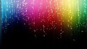 Neonowych świateł tło Zdjęcia Stock
