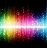 Neonowych świateł tło Obraz Stock