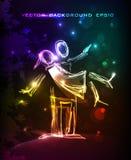 Neonpaare in der Liebe Neonsammlung Stockbilder