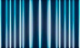 Neonr?hren mit wunderbarem Licht stock abbildung