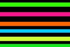 Neonstrepen Stock Fotografie