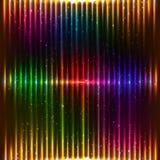Neonvektor beleuchtet Hintergrund Stockbild
