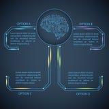Neonzusammenfassung, Reflexion zeichnet vektorhintergründe eps10 Stockbilder