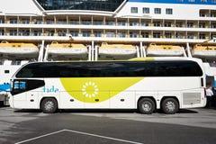 Neoplan Cityliner von Gezeiten ASA Stockfoto