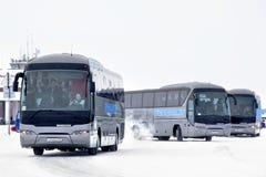Neoplan N2216SHD Tourliner Royalty-vrije Stock Afbeeldingen