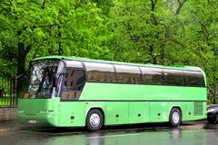 Neoplan N216 Jetliner Stock Photos