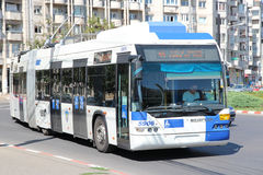 Neoplan trolleybus Royalty Free Stock Photography