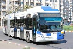 Neoplan trolleybus Royaltyfri Fotografi
