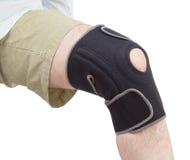 Neoprene knee brace.