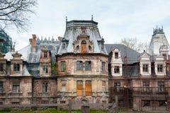 Neorenaissance palace in Guzow, Poland Stock Image