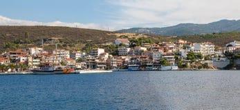 Neos Marmaras panorama Stock Photos