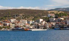 Neos Marmaras panorama Royalty Free Stock Image