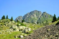 Neouvielle全国自然保护,法国比利牛斯 免版税库存图片