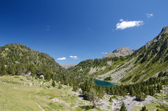 Neouvielle nature reserve in the summer Pyrenees Stock Photo