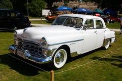 Neoyorquino 1950 de Chrysler de lujo Imagen de archivo libre de regalías