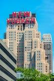 Neoyorquino del hotel en New York City los E.E.U.U. Fotos de archivo