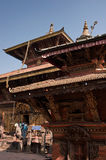Nepal. Tourism Buddhist culture and ancient architecture stock photo