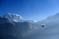 Nepal Annapurna Royalty-vrije Stock Afbeelding