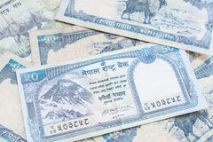 Nepal banknote Stock Photos