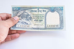 Nepal banknote Royalty Free Stock Image