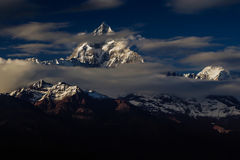 Nepal berg 2 Arkivbild