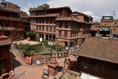 Nepal, Bhaktapur-Souvenirladen Lizenzfreie Stockfotos