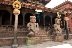 Nepal, Bhaktapur-Tempel Lizenzfreies Stockbild
