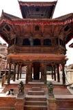 Nepal, Bhaktapur-Tempel Stockfoto