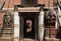 Nepal, Bhaktapur-Tempel Stockbild