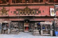 Nepal, Bhaktapur-Tempel Lizenzfreie Stockfotografie