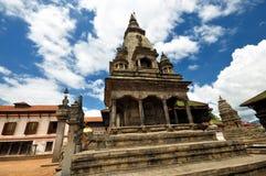 Nepal Bhaktapur tempel Fotografering för Bildbyråer