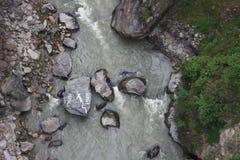 Nepal bungee obrazy stock