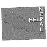 Nepal Charity POSTER Stock Photo